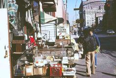 Junk shops, Church Street and Canal Street, 1979. Photo by Frank Florianz.