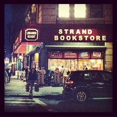 The Strand Bookstore NYC. One of the best places on earth.