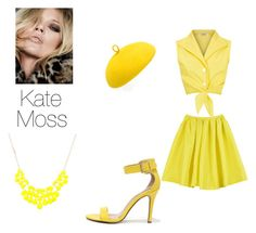Pasada Kate Moss by da-da-loo on Polyvore featuring polyvore, fashion, style, Breckelle's and Mademoiselle Slassi