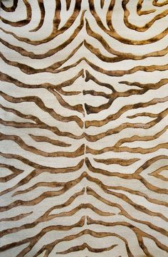 brown zebra design - how about this painted on white dresser doors?