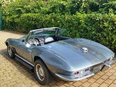 Corvette C2 Cabrio cui.V8 Sidepipe