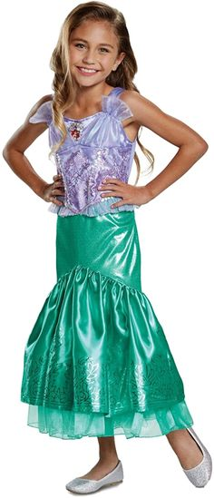 Ariel Costumes, Homemade Halloween Costumes, Boy Costumes, Halloween Costumes For Girls, Costume Halloween, Disney Princess Toddler, Disney Princess Ariel, Disney Girls, Toddler Costumes