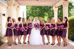 Pink & Purple Ashton Gardens Wedding