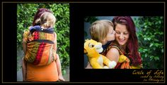 You'll be singing Hakuna Matata every day of your life when you wear this fabulous wrap from PAXbaby.com!