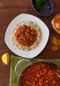 Rustic Chickpea Stew with Apricots