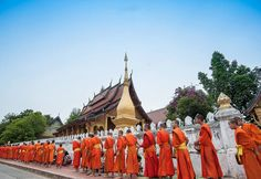 Indochina Tour: Vietnam, Cambodia and Laos. This 17 days tour will provide tourist the overview of Indochina travel points in Vietnam, Cambodia and Laos Luang Prabang, Capital City, Laos Travel, Travel Tourism, Vietnam Tours, Ha Long Bay, Vientiane, May Bay, Places