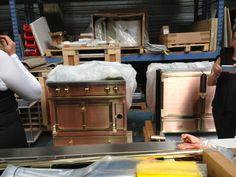 French Stove, La Cornue, Kitchens, Kitchen Cabinets, Design Inspiration, Style, Swag, Cabinets, Kitchen