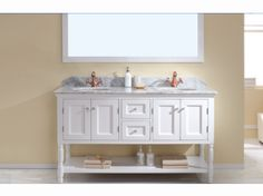 Genoa Vanity White with Carrera White Small Vanity, Double Vanity, Wall Hung Vanity, Corner Wall, Vanity Cabinet, The Hamptons, Hampton Style, Genoa, Traditional