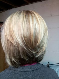 Beautiful layered short haircuts for women If you want this cute and simple hair.,Beautiful layered short haircuts for women If you want this cute and simple hairstyle, then the short, layered haircut is the way to go. This hairstyl. Layered Bob Haircuts, Girls Short Haircuts, Short Bob Hairstyles, Layered Hairstyles, Layered Short Hair, Layered Bobs, Kid Hairstyles, Black Hairstyles, Shortish Hairstyles