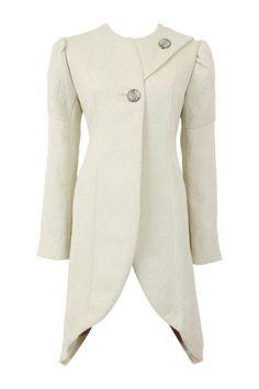 #winterdreamery - Basquesse Gigot Coat - Ivory $680 @ The Dreamery    http://www.the-dreamery.com/Wardrobe/Coats/Gigot-Coat-Ivory