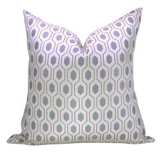 Thom Filicia Euclid pillow cover in Mineral by OrangeOliveStudio