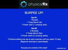Burpee up!
