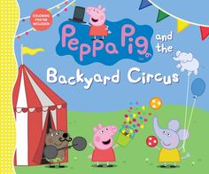 Grandpa Pig is busy setting up a big tent in the backyard for Granny Pig's garden party, but Peppa thinks it looks more like a circus tent. What could be better than to put on a circus show during the party? Danny Dog can be the strong man, Suzy Sheep the juggler, and George can wow the crowd as one of the cyclists. And it's Peppa's job to make sure the amazing feats go according to plan — she's the ringmaster, of course! 9780763694371 / 2-5 yrs