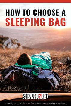 How to choose a sleeping bag? It is not that hard. All you need is to understand the basics in picking the right one for you. Here's a guide for you! #sleepingbag #camping #campingtip #survivalkit #survivaltip #survival #preparedness #survivallife Survival Life, Survival Gear, Survival Skills, All You Need Is, Types Of Insulation, Weather And Climate, Sleeping Bag, Stress, Camping