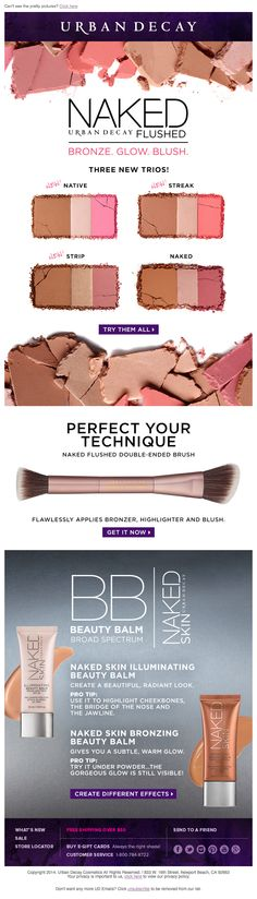 Urban Decay newsletter #newsletter #urbandecay #emaildesign #email