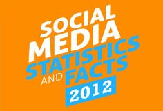 Social Media Statistics and Facts 2012 [Infographics]