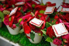 Lembrancinhas!!!! Mini arranjos com flores naturais
