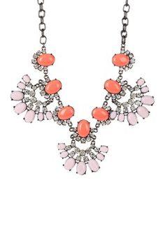 Scarlet Statement Necklace