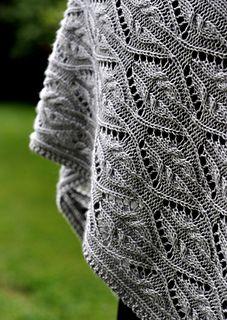 Knitting Patterns Shawl Ravelry: Tendrilly pattern by Dee O& Lace Knitting, Knitting Stitches, Knitting Designs, Knitting Projects, Knitting Patterns, Knit Crochet, Crochet Patterns, Shawl Patterns, Lace Patterns