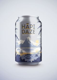 Beer Can Packaging Design Curated by Little Buddha