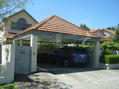 trendy carports and fence designs