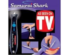This daily deal in India for the As Seen On TV: Samurai Shark is only available on Bhaap.com has the following specifications:  Samurai Shark quickly and easily sharpens knives and scissors Hand held tungsten carbide steel sharpening blade will give your knives, scissors, and tools a razor sharp, precision edge every time you use it Great to use in the kitchen, garage, garden, for crafts, fishing, camping and hunting