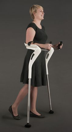 The M+D Crutch, Designed For Comfort & Ease of Use.