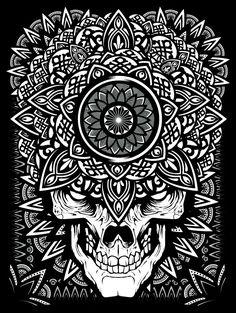 080 - Mandala Exploration by Joshua M. Smith, via Behance