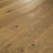 20 x 220mm 'Sawcut Smoked' Oak Structural Engineered Wood Flooring - Crown