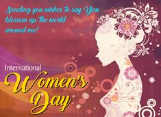 Happy Womens Day Quotes, Sending Hugs, Make Her Smile, Happy Woman Day, Love Hug, Day Wishes, Light Of My Life, Almost Always, Feeling Special