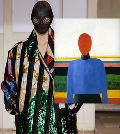 Playing spot the difference with Russian constructivist Kazimir Malevich's pioneering drawings and Maison Martin Margiela's recent designs: http://www.dazeddigital.com/fashion/article/21314/1/margiela-3-malevich