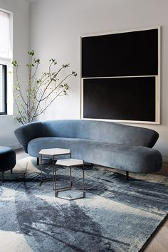 Home Interior Salas .Home Interior Salas Contemporary Couches, Contemporary Interior Design, Modern Interior, Modern Contemporary, Midcentury Modern, Dining Room Paint, Living Room Furniture, Interior Desing, Interior Ideas