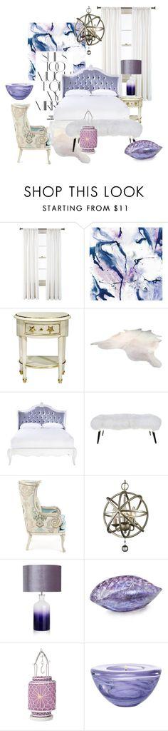 """purple"" by homelava ❤ liked on Polyvore featuring interior, interiors, interior design, home, home decor, interior decorating, Royal Velvet, Rika, Massoud and Yalos Murano"