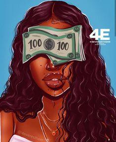 Hair art drawing outfit ideas for 2019 Art Black Love, Black Girl Art, Black Is Beautiful, Black Girl Magic, Art Girl, Drawings Of Black Girls, Arte Black, Black Girl Cartoon, Afrique Art