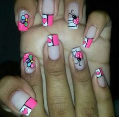 Nail Manicure, Diy Nails, Paris Nails, French Tip Nails, Nail Designs, Make Up, Nail Art, Beauty, Designed Nails