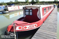 Jem (2 Cabins) - Great Haywood Boat Sales Boat Sales, Solid Fuel Stove, Narrow Boat, Vanity Basin, Kubota, Boats For Sale, Cabins, Two By Two, Cottages