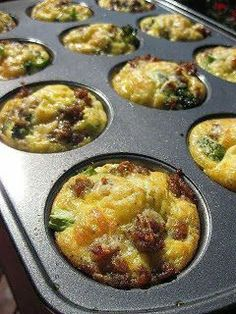 Breakfast Cupcakes ~ International Recipes - Foods and Drinks