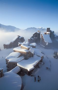 """ Avoriaz, France Perfect winter morning *** By Vitaly_S """