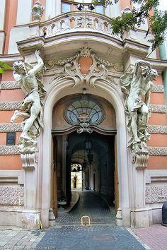 Lviv House of Scientists, Lviv, Ukraine  1887  Architects: Fellner & Helmer, Vienna  Baroque architecture, also known as the Viennese neo-Renaissance style