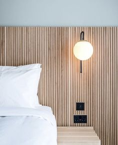 Small Room Bedroom, Home Bedroom, Wood Wall In Bedroom, Small Bedroom Hacks, Small Modern Bedroom, White Wall Bedroom, Modern Bedrooms, Bed Wall, Bedroom Apartment