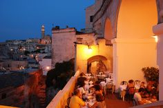 Current project: attempting to make THIS happen for my birthday. Il Terrazzino in Matera, Italy.