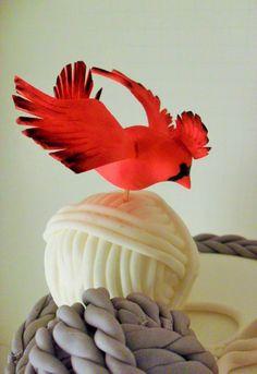 Winter B-day Cake www.albenacakes.com www.facebook.com/albena.cakes