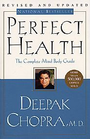 Available at Marcela's Yoga Boutique in Old Town Alexandria.  http://www.marcelasyogaboutique.com/contact/ Perfect Health - The Complete Guide Holistic Mind|Body Living- from Deepak Chopra