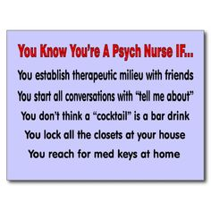psych nurse | funny psych nurse sayings you know you re a psych nurse if on t shirts ...