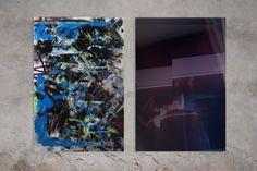 Untitled mixed media on reverse glass & time exposure photography thomas bestvina Exposure Photography, Mixed Media, Paintings, Glass, Art, Craft Art, Drinkware, Painting, Kunst