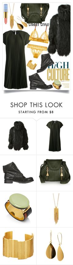 """..."" by hani-bgd ❤ liked on Polyvore featuring Sacai, Bouchra Jarrar, Ink Shoes, See by Chloé, Dean Davidson, Stephanie Kantis, Tanya Creations, Disney, StreetStyle and MyStyle"