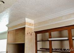 Ideas To Cover Kitchen Soffit | Kitchen Soffit Molding Hide Soffit Above  Kitchen Cabinets By Adding ... | Kitchen | Pinterest | Kitchen Soffit,  Moldings And ...