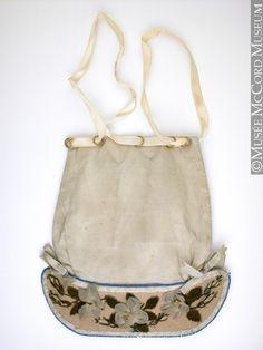Bag, reticule  1834, 19th century