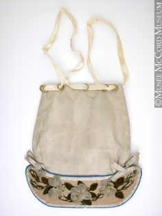 Bag, reticule 1834, 19th century