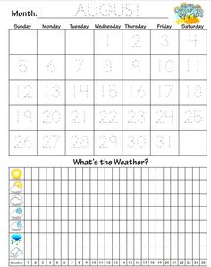 FREE Preschool Daily Learning Notebook Printables   Confessions of a Homeschooler